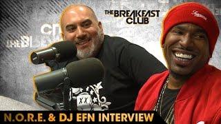 N.O.R.E. & DJ EFN Talk Drink Champs, Squashin...