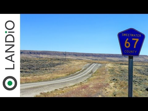 SOLD : Land For Sale in Wyoming : 80 Acres in Southern Wyoming adjoining BLM Land at Wholesale Price