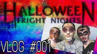 Vlog #001 - Het eerste weekend Halloween Fright Nights!