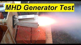 MHD Generator Test