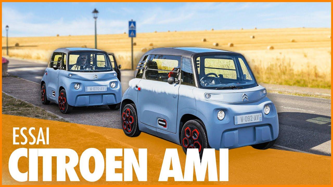 🚗 1 SEMAINE & 400KM en Citroën AMI ⚡️ LE VERDICT