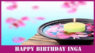 Inga   Birthday Spa - Happy Birthday