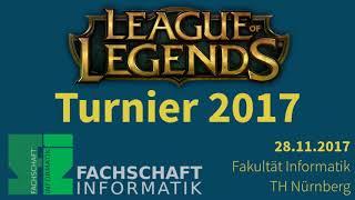 Intro - LoL-Turnier TH Nürnberg OHM WS17/18