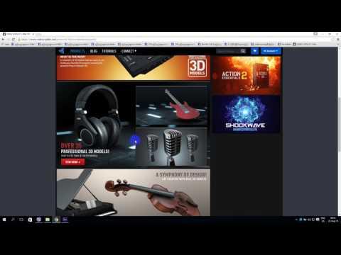 036_ Sound & Music Pack for Element 3D ေဒါင္းနည္းႏွင့္ အင္စေတာလုပ္နည္း