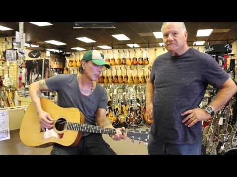 John Rzeznik signs 5 Guitars at Norman's Rare Guitars