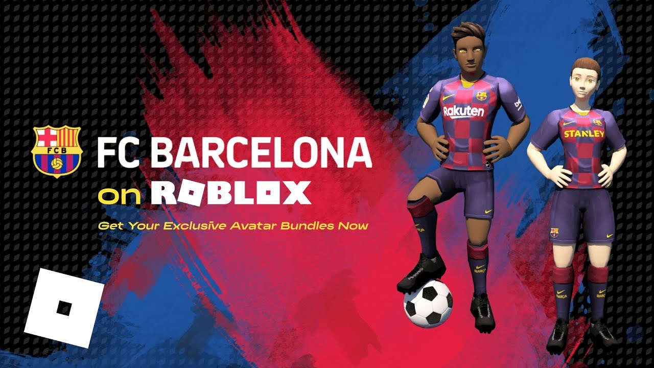 Roblox Fc Barcelona Get Barca S New Home Kit For Your Avatar