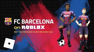 Roblox and fc barcelona are teaming up to inspire players around the world live like true champions, on off pitch. lead your fellow robloxians ...