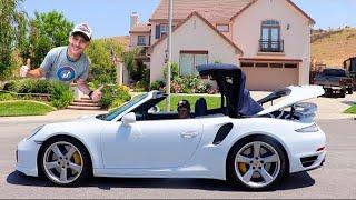 ポルシェ911ターボSを試乗したら驚きの加速力で好きになってしまった!Porsche 911 Turbo S Cabriolet Steve