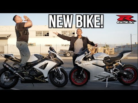 BOUGHT A NEW MOTORCYCLE! | Suzuki GSXR 1000