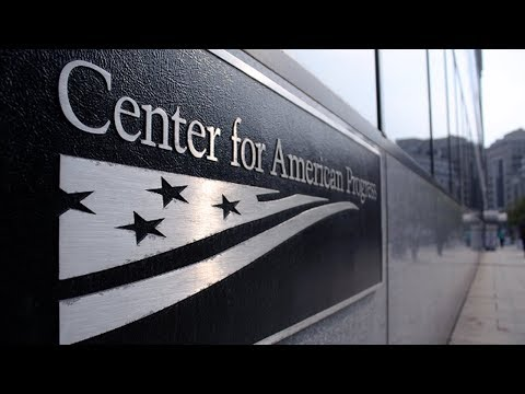Does The Center for American Progress Want to Stop Progressives In 2020?