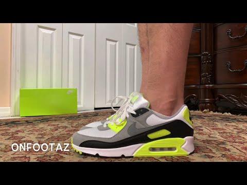 nike-air-max-90-og-volt-2020-on-foot