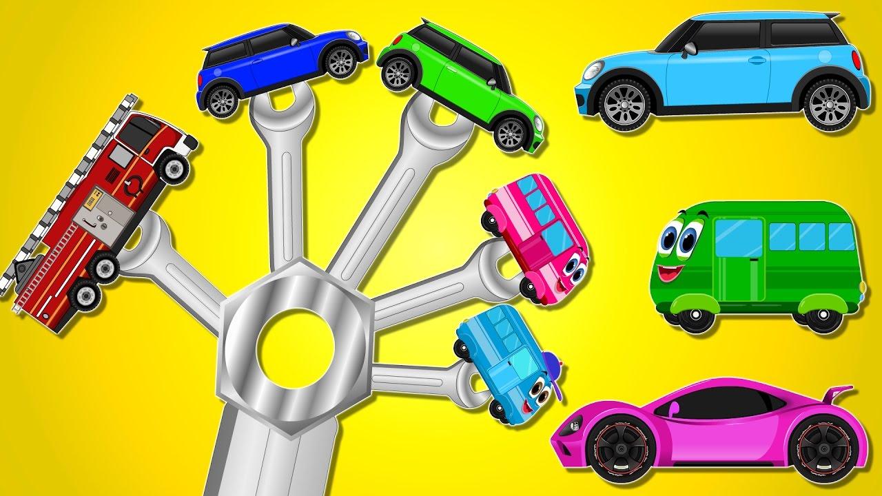 Vehicles Finger Family | Nursery Rhymes | Baby Songs | Car ...