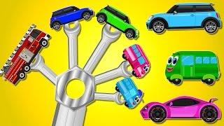 Vehicles Finger Family | Nursery Rhymes | Baby Songs | Car Rhyme | Kids Videos