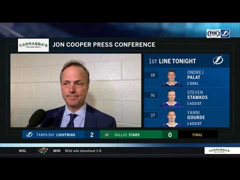 POSTGAME REACTION: Tampa Bay Lightning at Dallas Stars 01/15/19