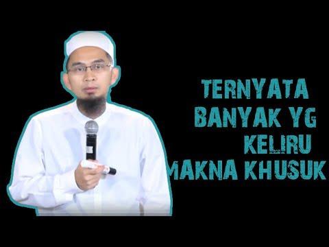 Ternyata Banyak Yang Keliru Makna Khusuk     Ustadz Adi Hidayat Lc MA