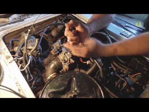 Subaru Libero карбюратор снял поставил