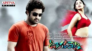 Oosaravelli Movie | Dandiya India Full Song
