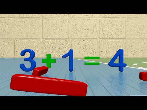 Addition Video for Kids - One Plus One Educational Learning Video