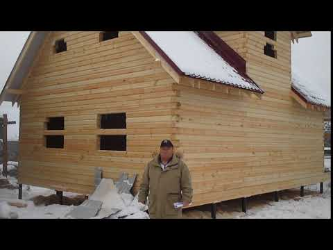 Видео отзыв (дом из профилированного  бруса с мансардой) - СК Северные Терема
