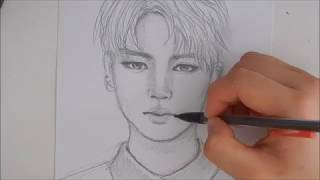 Drawing Jimin | Tutorial