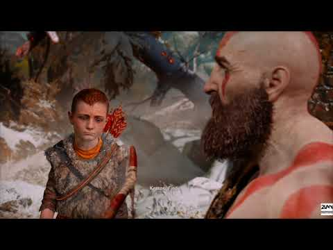 God of War (2018) - Opening Prologue: The Marked Trees | Challenge Difficulty