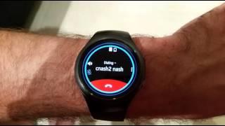 Samsung Gear S2 3G Bluetooth Call