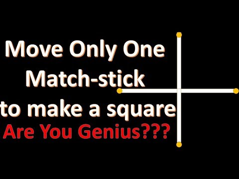 Match Stick and Square Problem
