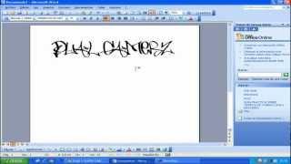 Descargar letras de grafittis para word