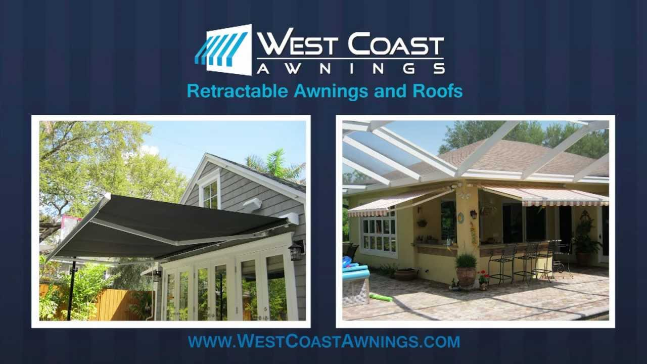 West Coast Awnings Residential Retractable Canopies Sun Screens Gazebos