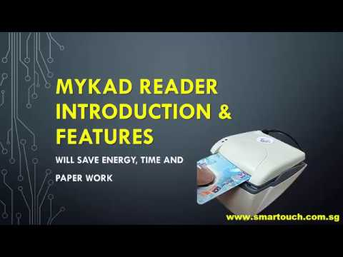MYKAD Reader Integrated with Visitor Management System : Introduction