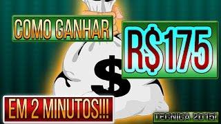 Como ganhar R$175 em 2 Minutos!!! Novo Método 2015//PayPal//DownFile