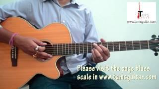Chaandaniya (2 States) guitar lesson main riff
