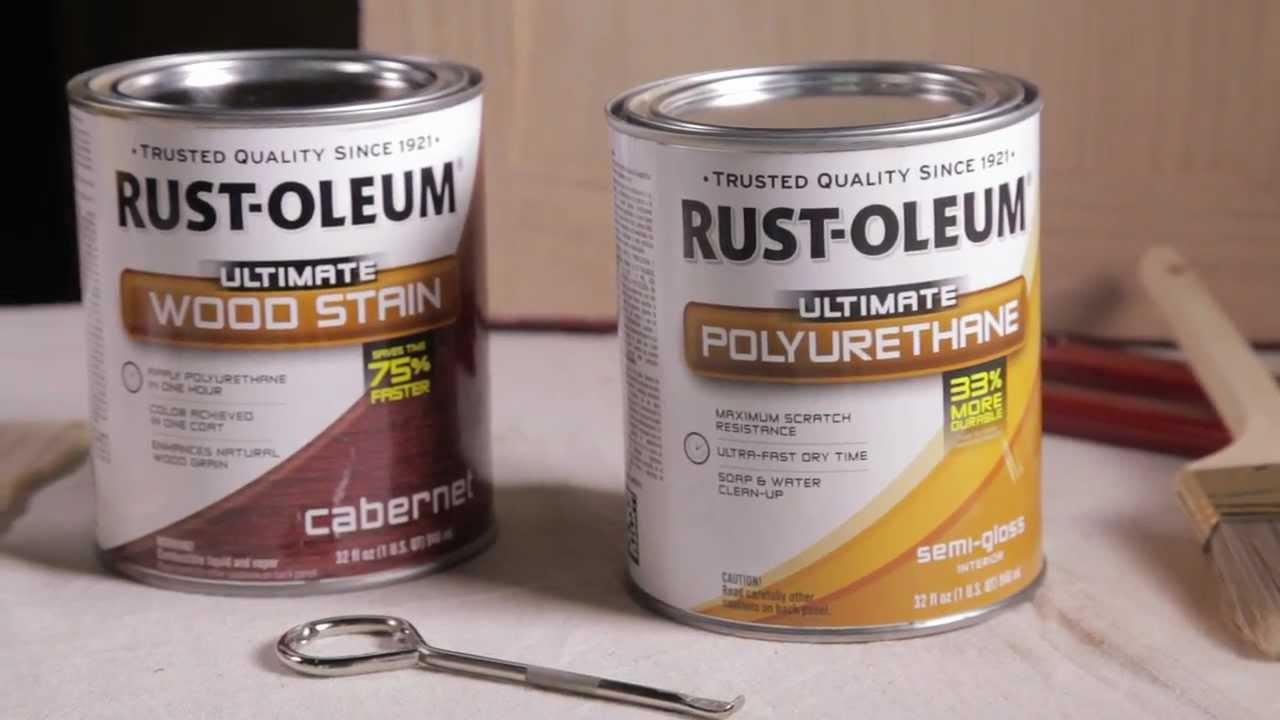 Rustoleum Driftwood Stain Rust Oleum Ultimate Polyurethane Application Tips Youtube