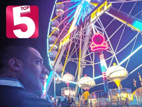 Top 5 must-try extreme rides at Entertainment World Village Qatar!
