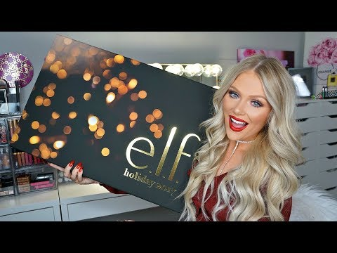 e.l.f. HOLIDAY KITS 2017 | FULL FACE FIRST IMPRESSIONS