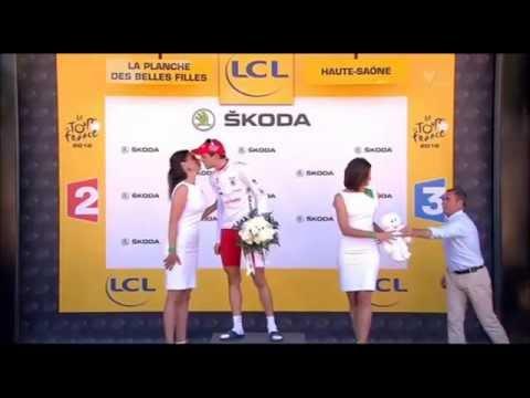 Le Tour 2012 Etape 7 Rein Taaramae Maillot blanc