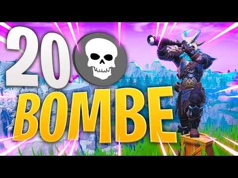 IL RE DI FORTNITE HA FATTO 20 BOMBE!! *voglio 100.000 MI PIACE*