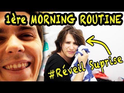 Notre 1ère happy morning routine : quand Colin nous réveille à 7H30!! VLOG ANGIE MAMAN 2.0