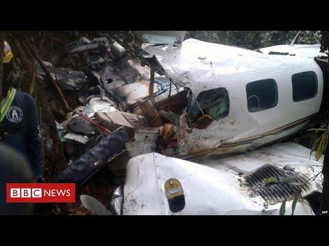 Miraculous plane crash survivors