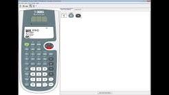 TI-30XS MultiView - Statistics - Factorials