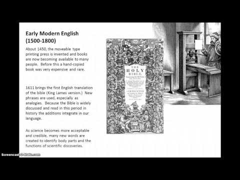 Early Modern English History