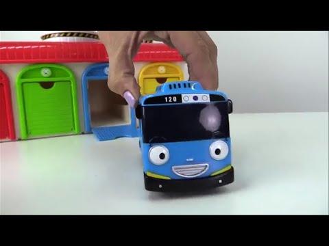 Carros para niños -  Colores - Little Bus Tayo toys - 타요 꼬마버스 장난감