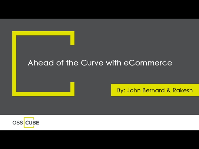 Ahead of the Curve with eCommerce - YouTube