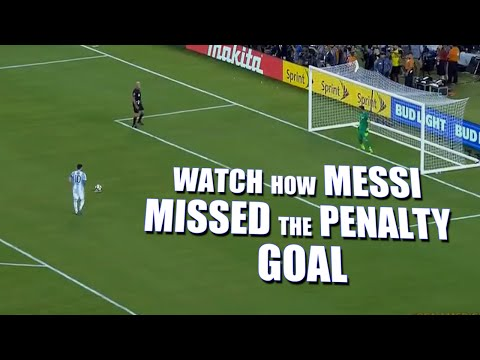 Lionel Messi Misses Penalty goal Attempt In Copa America Final | Mango News