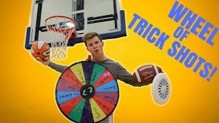 Wheel Decides Your Trick Shot *BATTLE!*
