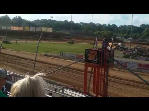 World of Outlaws Qualifying Part 1/2  Lawrenceburg Speedway