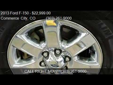 2013 Ford F-150 SUPERCREW for sale in Commerce City, CO 8002