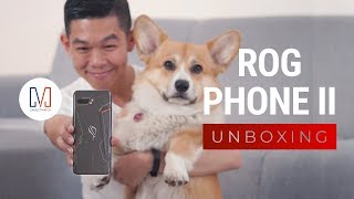 Complete ROG Phone 2 Ultimate & Accessories Unboxing