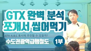 GTX 완벽 분석 쪼개서 씹어먹기! - 이승훈 소장의 부동산 세미나 1부