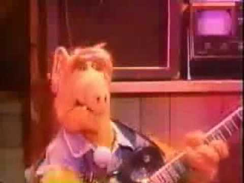 ALF Iron Maiden Video Can i play with madness